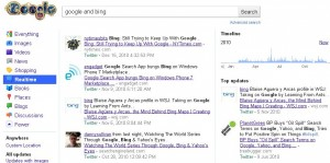 Searching Google for Realtime Results