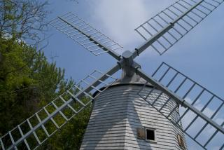 Old Windmill by Brian Norcross at Stockvault.net