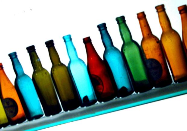 Colored bottles by clarita at Morguefile.com