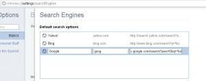 Customizing Your Search Engines in Google Chrome to Block Personalization