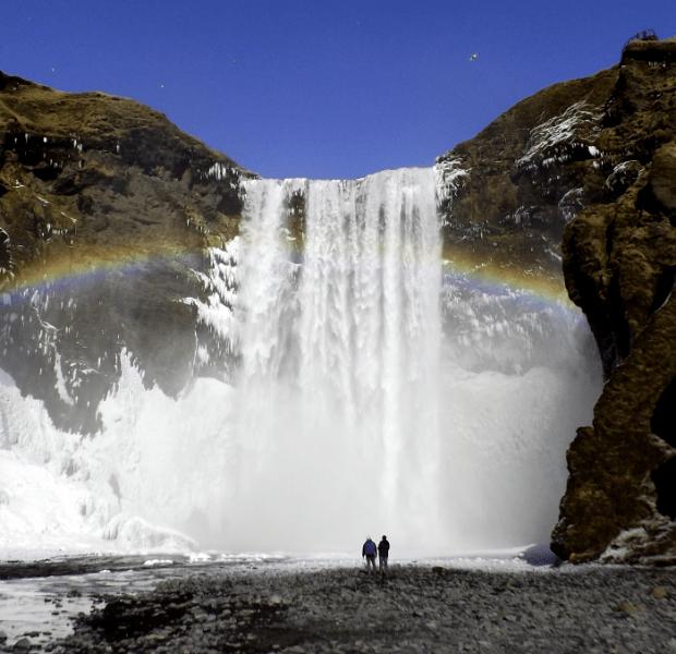 skogafoss-waterfall-rainbow-iceland-winter
