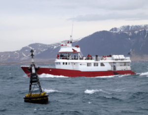 elding-whale-watching-boat-underway-harbor-buoy-reykjavik