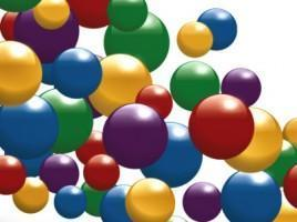 bouncing balls graphic