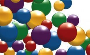 bouncing balls graphic