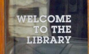 welcome-to-the-library-glass-sign
