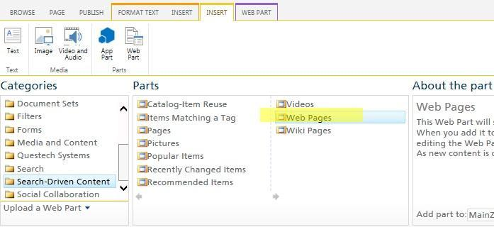 Web parts based on the search will enable you to edit the search query.
